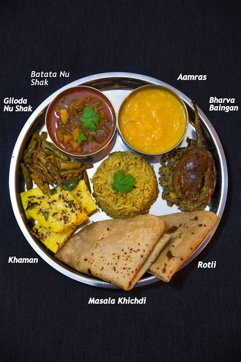 indian cuisine recipes with pictures gujarati thali recipes crave cook click