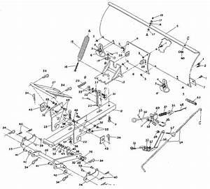 34 John Deere Snow Plow Parts Diagram