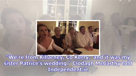No Irish Wedding Is Complete Without A Sing-song At