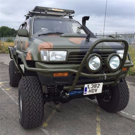 toyota hilux surf monster truck  modified offroad