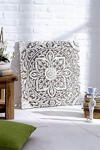 Holz Ornament Wand : holz wandbild jetzt bei bestellen ~ Whattoseeinmadrid.com Haus und Dekorationen
