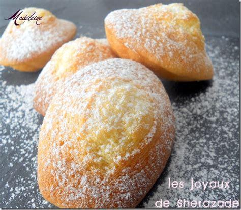 jeux de cuisine marocaine recette de madeleine de commercy les joyaux de sherazade