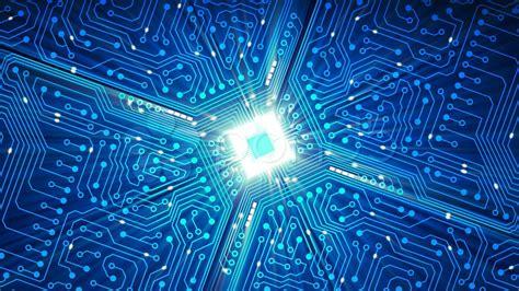 Data Processing Cpu Circuit Board Stock Footage