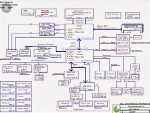 Laptop Motherboard Schematic Diagram