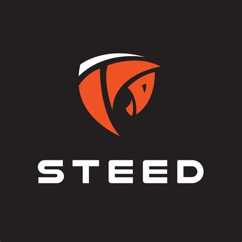 steedhorse logo design logo cowboy