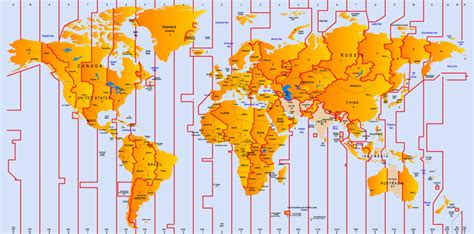time zones databases
