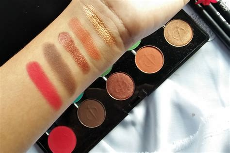 review inez professional color eyeshadow palette