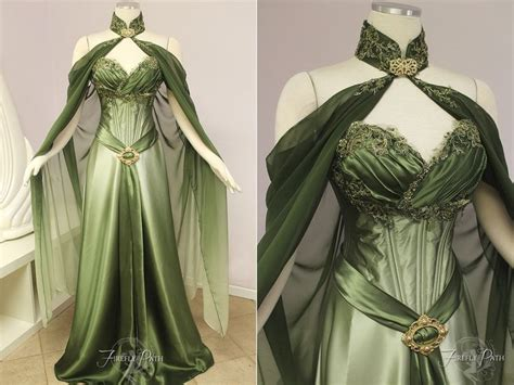 Elven Bridal Gown By Lillyxandra Female Elf Fey Fashion