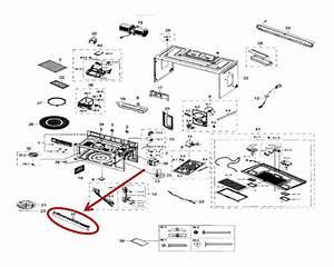 Samsung Me18h704sfs  Aa Microwave Parts