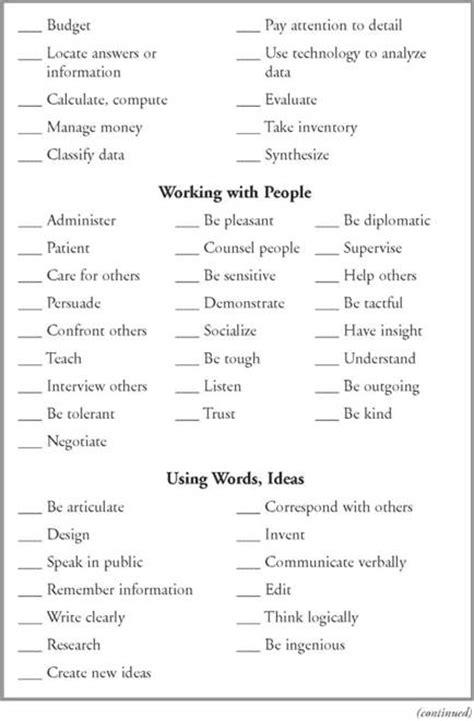 identify your skills identify your adaptive skills and