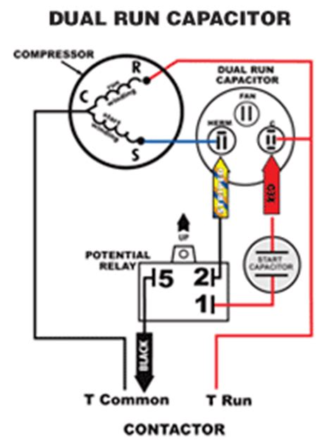 Compressor Wiring Diagram For Capacitor by Start Start Kit Start Capacitor Compressor For