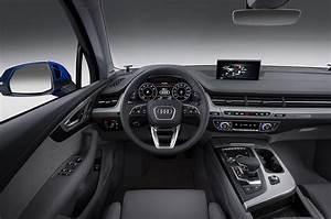 Audi Q7 Interieur : 2016 audi q7 first look motor trend ~ Nature-et-papiers.com Idées de Décoration