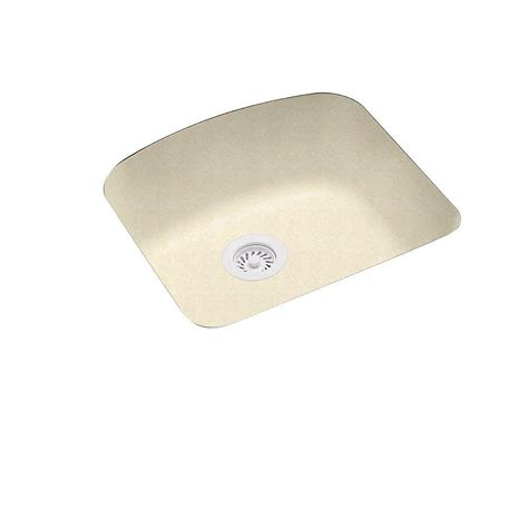 solid surface kitchen sink swanstone undermount solid surface 20 9 in 0 single
