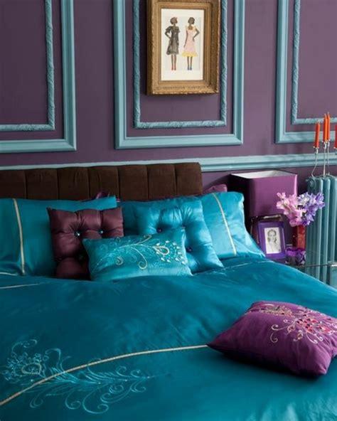 couleur de chambre violet chambre couleur prune les id es chambres attrayante