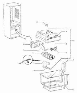 Ice Maker Diagram  U0026 Parts List For Model E522blxfdu23218a