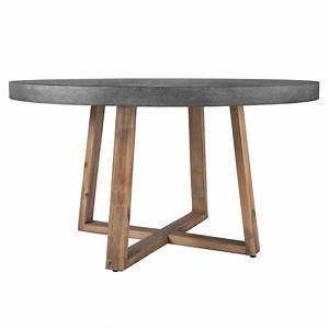 Table 140 Cm : table ronde tambora 140 cm essayez les tables rondes tambora 140 cm rdv d co ~ Teatrodelosmanantiales.com Idées de Décoration
