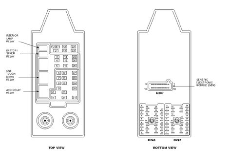 ford  fuse box diagram