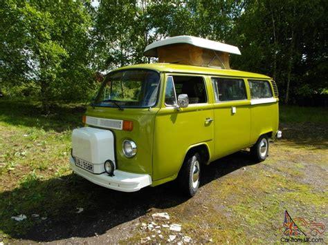 Volkswagen Baywindow Bus Type 2 Westfalia Late Bay Camper Van