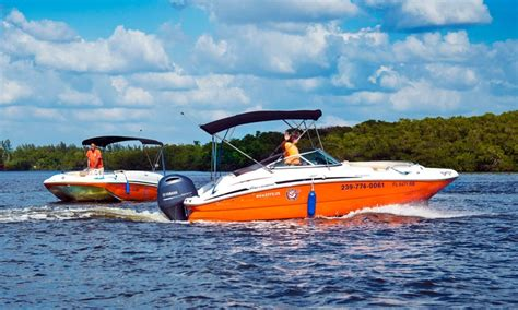 Naples Boat Rentals Groupon by Naples Family Spot Up To 40 Naples