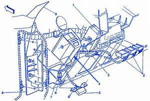 Chevy Silverado 2005 Instrument Panel Electrical Circuit Wiring Diagram