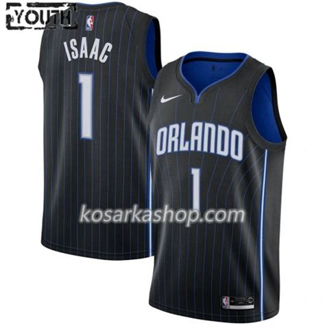 Dres Orlando Magic Jonathan Isaac 1 Nike 2019-20 Icon ...