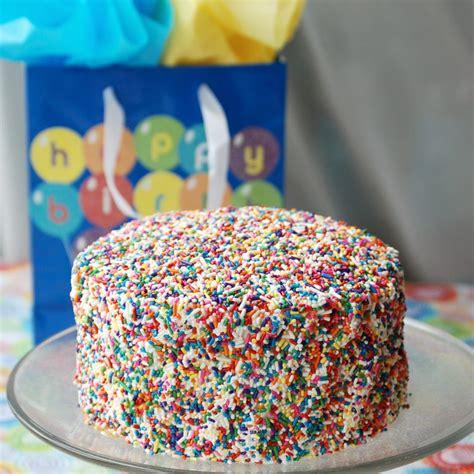 sprinkle birthday cake  love nerds