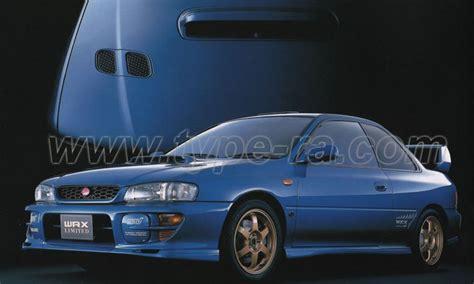 Subaru Type R by Subaru Impreza Wrx Type R Sti Version 6 Limited