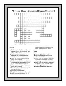 grade math vocabulary crossword puzzles  ralynn