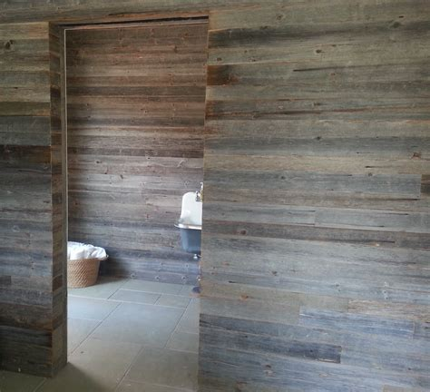 reclaimed barn wood siding rustic wood  walls ceiling