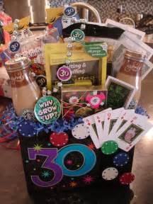 30th Birthday Gift Basket Ideas
