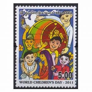 Sri Lanka 2011 – World Children's Day Stamp | Phila Art