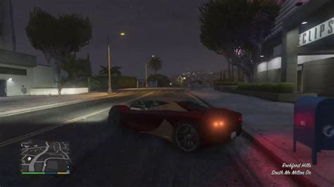 In this video i wiil show you guys how to. GTA 5 Story Mode - Free Grotti Turismo R Location - YouTube