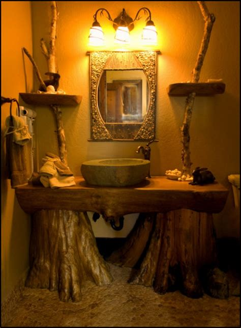 specific rustic bathroom design ideas  enjoy