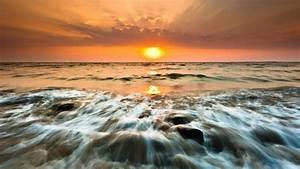Gorai Beach Sunset - High Definition Wallpapers - HD ...