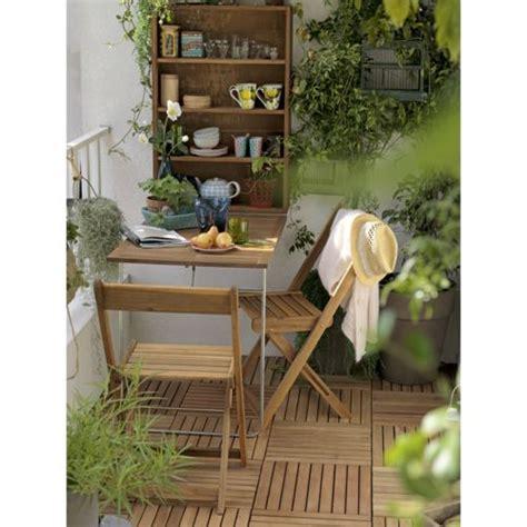 salon pour balcon 2 places table murale pliante 2