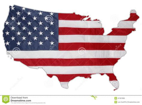 American Flag Stock Image. Image Of Photo, Stars, Symbolic