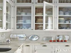 17 most popular glass door cabinet ideas theydesignnet for Kitchen cabinet doors with glass