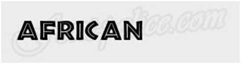 mini de cuisine font com de caracteres symbole afrique