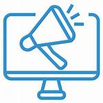 Marketing Icon Communication Advertising Computer Pr Icons