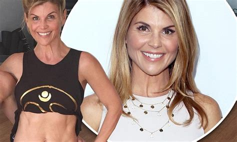 Lori Loughlin shows off her toned midriff and lithe limbs ...