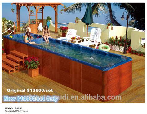 Hot Tub Big Size Whirlpool Hydro Massage Bathtubs With Tv