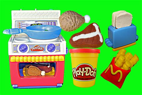 play doh cuisine play doh meal makin 39 kitchen play dough food oven play