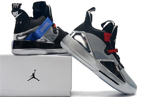"Air Jordan 33 Xxxiii ""all Star"" Blackmetallic Silver"