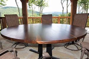 Hand, Crafted, Round, Dining, Table, In, Any, Size, Or, Species, Unique, Dining, Table, Or, Confrence, Table
