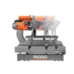Ridgid Tile Saw Stand by Ridgid 10 In Tile Saw With Stand Toros Outlet A