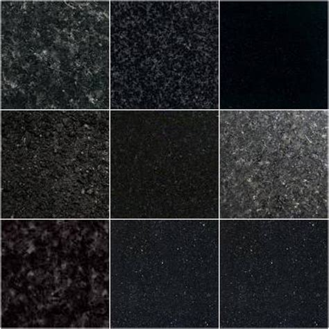 modern kitchen interior absolute black granite tile considerations in black