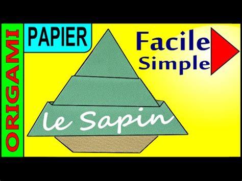 comment faire un sapin de noel en papier origami