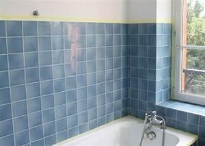 Carrelage Avant Ou Apres Receveur : relooking salle de bain avant apr s bricolage d co comment repeindre vos carreaux de salle ~ Nature-et-papiers.com Idées de Décoration