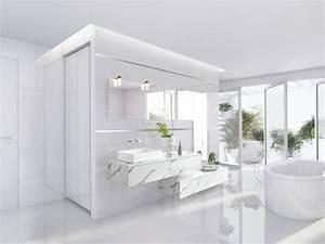 Salle De Bain En L : salle de bains sur mesure schmidt ~ Melissatoandfro.com Idées de Décoration