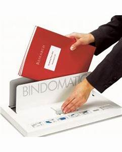 Bindomatic 5000 Is A Powerful Manual Binder Which Bind Up